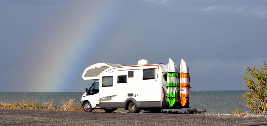 Australien Motorhome Surfen