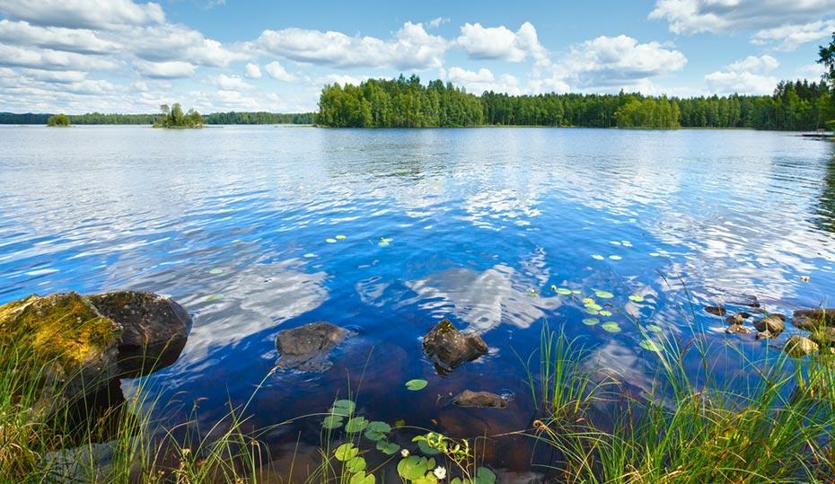 Motorhome Ferien Finnland Seenplatte