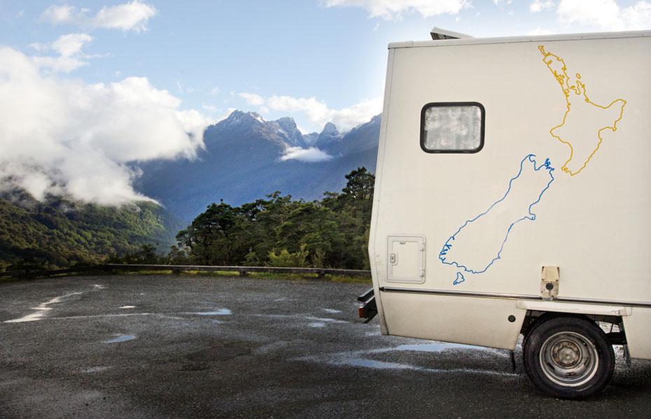 Motorhome Fjordland Neuseeland