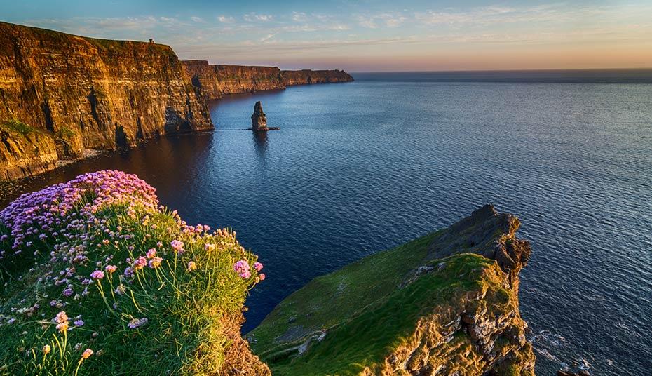 Landschaft Motorhome Reisen Irland
