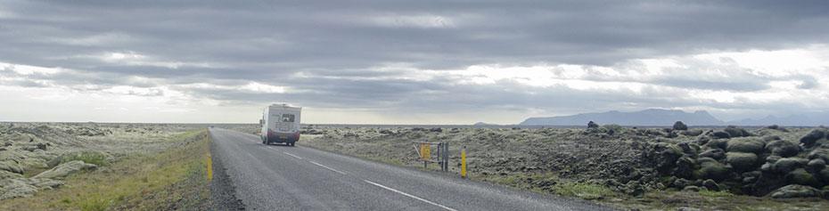 Motorhome Vermietung in Island