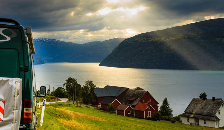 Norwegen Motorhome Reisen