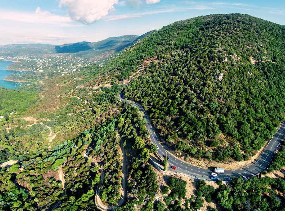 Motorhome Routen in Frankreich