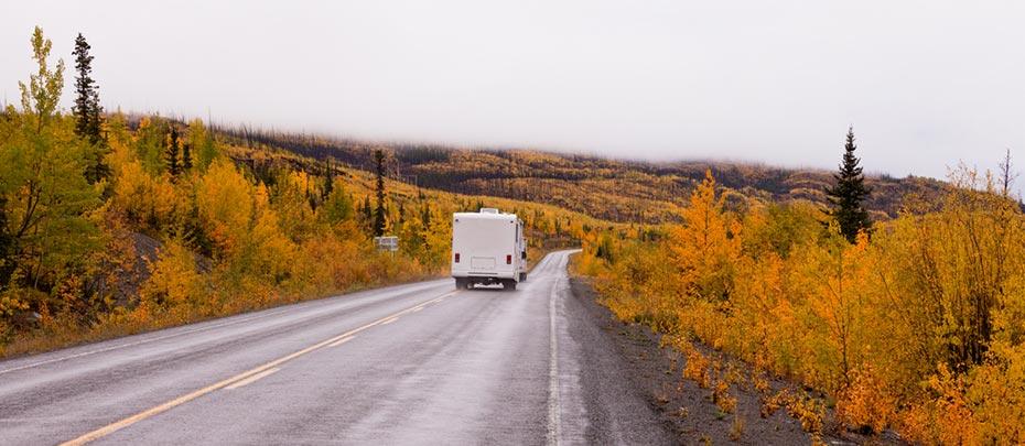 Motorhome Yukon Territorium Kanada