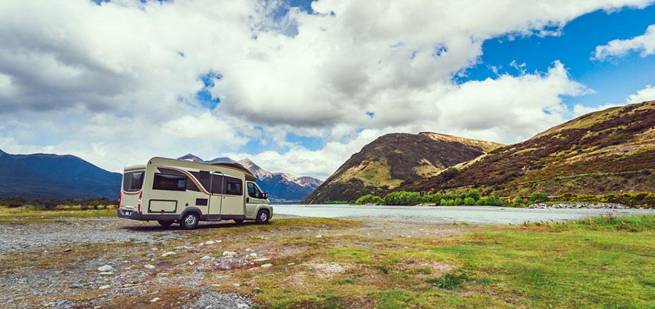 Neuseeland Motorhome Berglandschaft